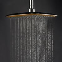 Роскошные большие площади ABS Chrome воды RAINS Насадки для душа раздвижного кронштейна и Ванная комната набор для Ванная комната Душ Интимные акс...