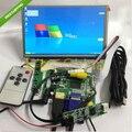 "7 ""1024*600 ЖК-Модуль Дисплей + HDMI/VGA/2AV Доска + Сенсорная Панель ж/контроллер"