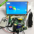 "7"" 1024*600 LCD Module Display + HDMI/VGA/2AV Board + Touch Panel w/ Controller"
