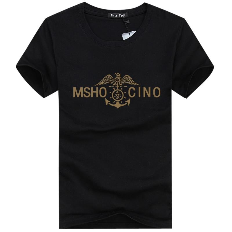 2019 NOVO Casual majica s kratkimi rokavi s kratkimi rokavi s črkami iz bombažne majice bela črna majica majica majice camisetas 25Z