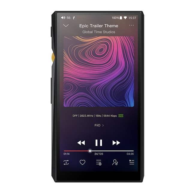 FiiO Android  M11 HIFI Music MP3 Player with Balanced Output/Support WIFI/Air Play/Spotify Bluetooth 4.2 aptx-HD/LDAC DSDUSB DAC