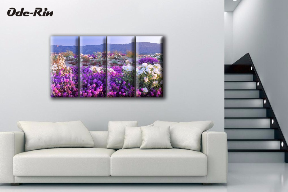 ᐊOde-Rin original oil painting on canvas paintings 4 piece canvas ...