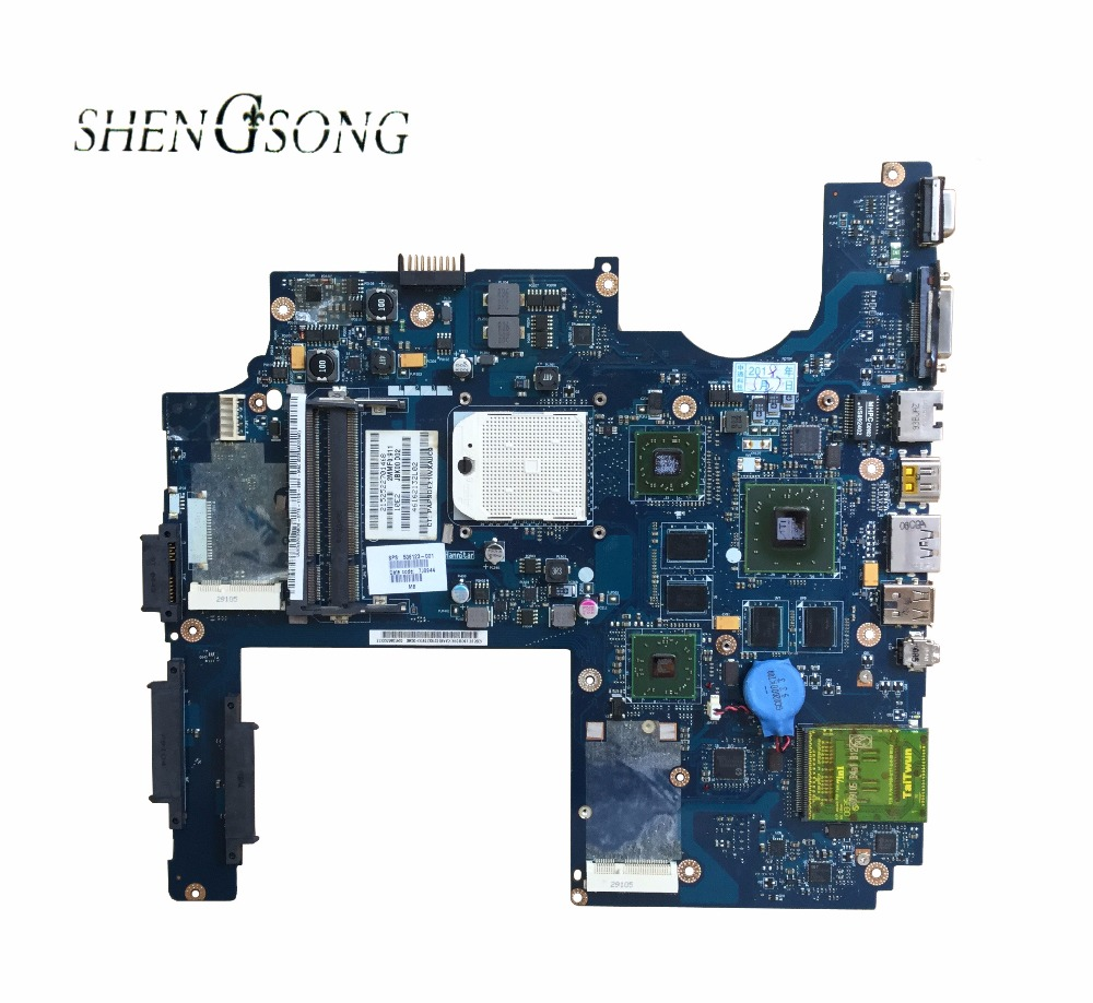 цена Free Shipping For HP DV7 DV7-1000 Laptop Motherboard MainBoard 506123-001 JBK00 LA-4093P DDR2 HD 3650 512MB Full Tested в интернет-магазинах