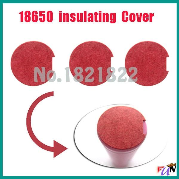 KüHn 10 Stücke/menge 18650 Isolierende Abdeckung Batterie Schutz Abdeckung Rote Abdeckung Elektronische Bauelemente Und Systeme