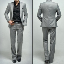 man suit  Business handsome fashion style formal occasions the groom suit high quality custom single-breasted suit