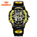 HOSKA Male And Female Students Electronic Watch Waterproof Outdoor Sports Watches Multifunction Running