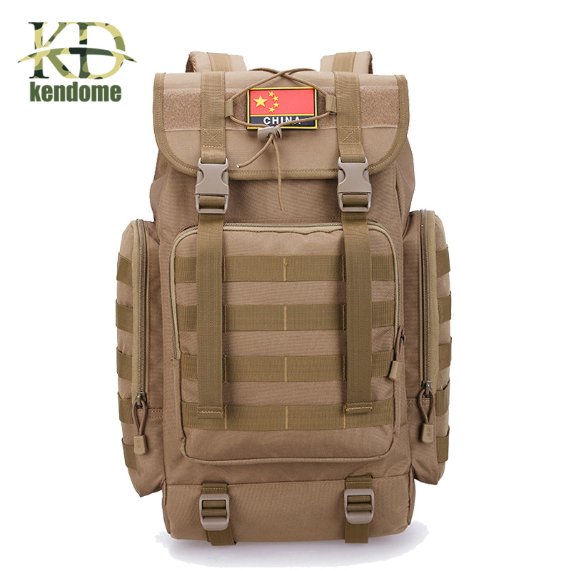 2018 Hot 40L Tactical Molle Shoulder Bag Military Camping Hunting Bags Travel Rucksack Outdoor Multifunctional Climbing Backpack