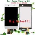 Большие Скидки ЖК-Дисплей С Сенсорным Экраном Digitizer Замена Частей Для Sony Xperia M5 E5603 E5606 E5653 ЖК-Экран
