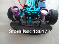 Rc Car Accessories Rc Parts Aluminum Alloy Round Face Concealed Body Shell Column For RC Car