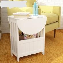 Журнальные столы мебель деревянный складной стол журнальный столик mesa de centro salontafel mesa вспомогательный белый цвет