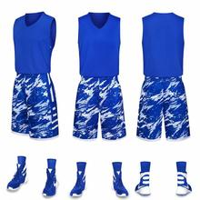 Basketball Jersey Training Suit Adult Children Sportswear Team Customized