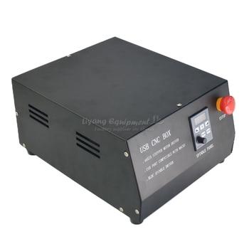 4 Axes Cnc | 400W DC Sans Brosse Broche Entraînement 4 Axes CNC Boîte De Contrôle MACH3 Parallet Port Contrôleur Pour CNC Machine De Gravure