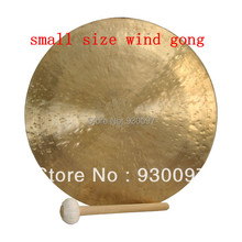 "high quality brass gong !100% handmade bronze gong,16""chinese traditional Wind  GONG"