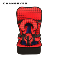 New Arrival 3Y 7Y Kids Children Safety Car Seats Universal Baby Portable Car Seat Thicken Seats
