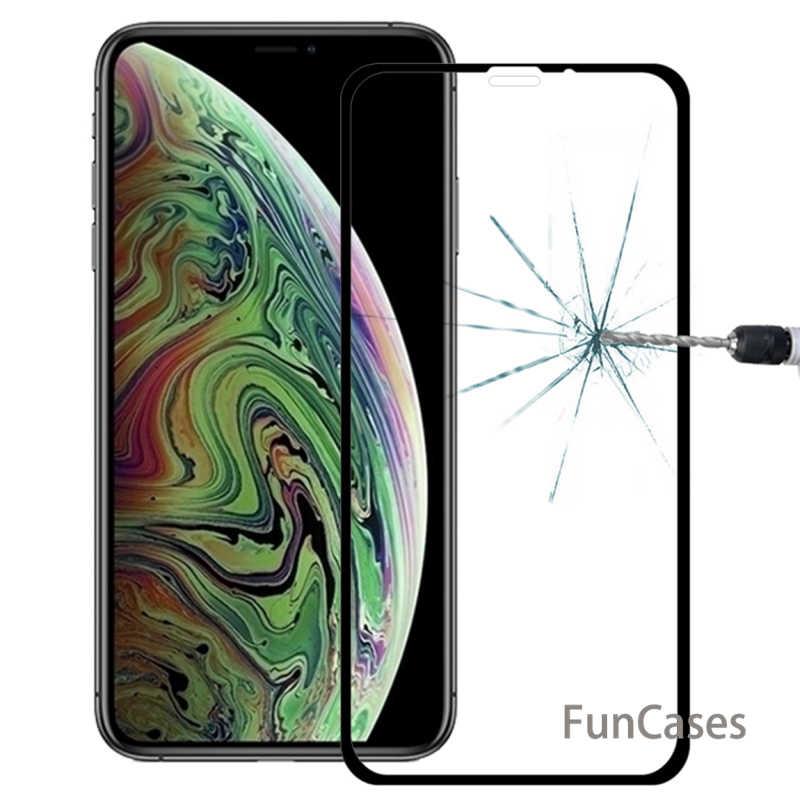 360 Asli Kaca Pelindung untuk Apple iPhone XR Case untuk iPhone X Max X R X S Tempered Kaca Transparan shockProof Caso Glas