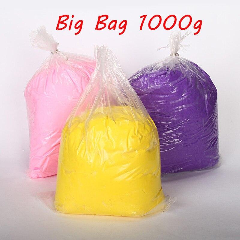 Baba 1 KG arcilla Brinquedos de arcilla de polímero polimorfo inteligente plastilina juguetes de los niños plastilina