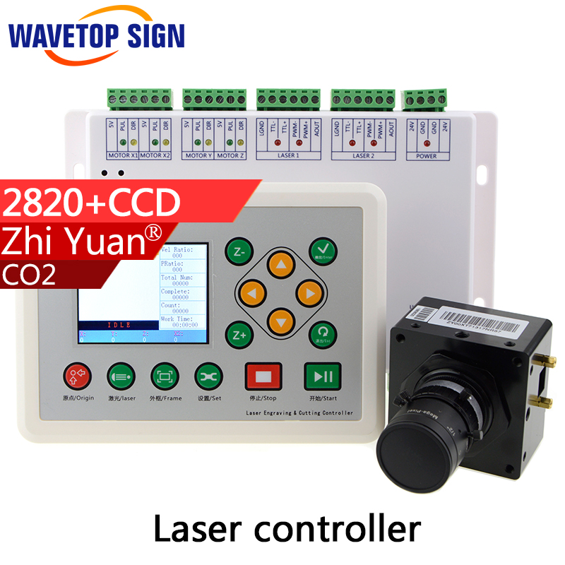 co2 laser machine ccd control system 2820 control card+camera+camera holder +cable