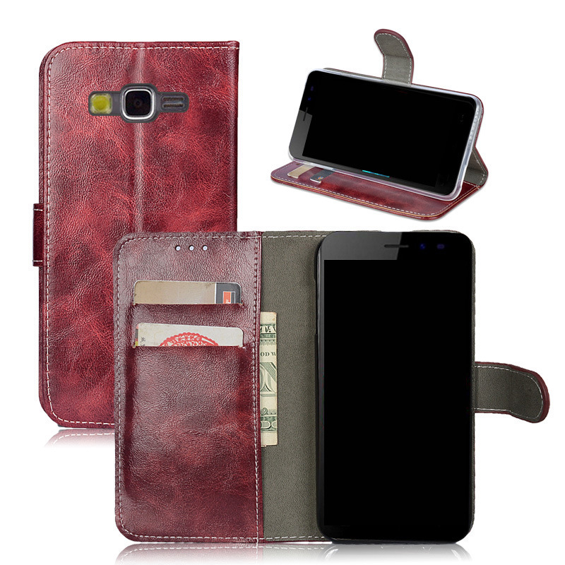 Luxury PU leather case cover for Samsung Galaxy Grand Prime G530 G531 G531H Silicone Case G531F stand Flip Card hold phone cases