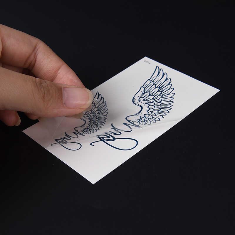 Мужская Женская водонепроницаемая временная татуировка символ тату флэш-тату поддельные татуировки