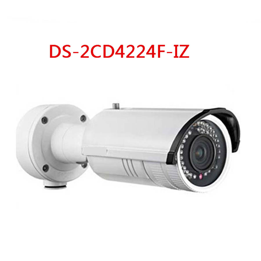 DS-2CD4224F-IZ 2MP Full HD IR Bullet Camera ip camera Smart Focus: Motorized VF lens, Mult-language, Free shipping cd диск fleetwood mac rumours 2 cd