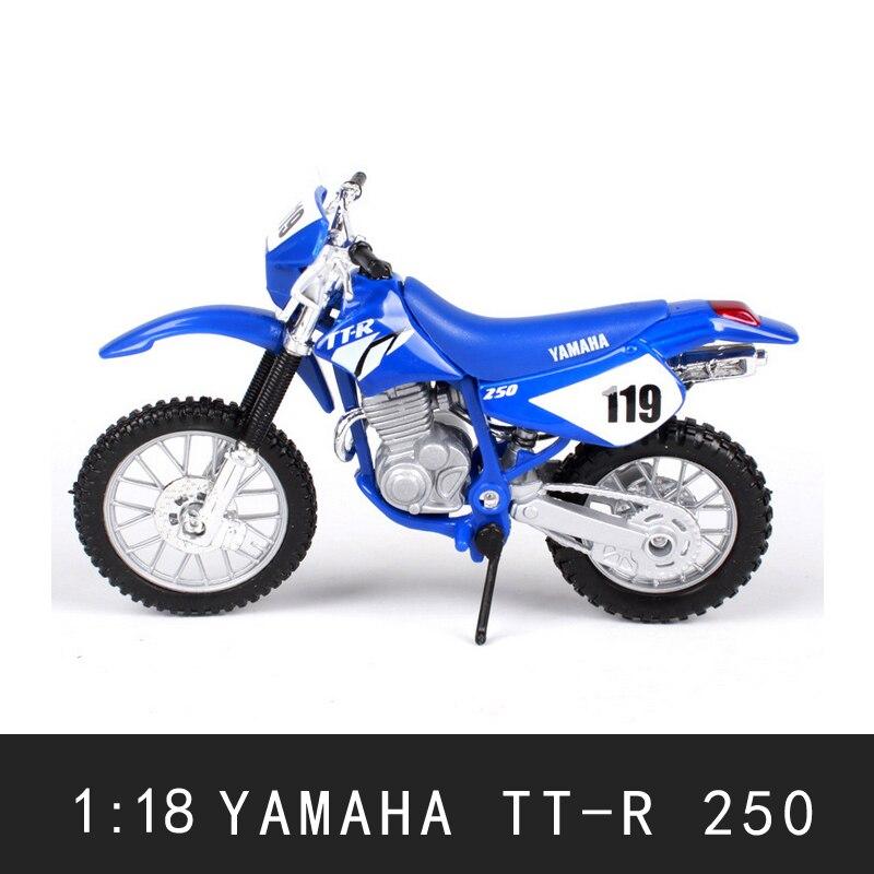 Wenhsin Yamaha TT-250 МОТОЦИКЛ R модель меблировки статей моделирования сплава мотоцикл модели автомобиля Интимные аксессуары