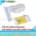 Ds-1258zj montagem na parede suporte de acessórios de cftv para câmera Dome DS-2CD31 e DC-2CD21 série