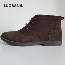 Men Boots +Fur Outdoor Botas Work Men Shoes Genuine Leather Autumn Summer Winter Shoes Men Black Big Size 38-47