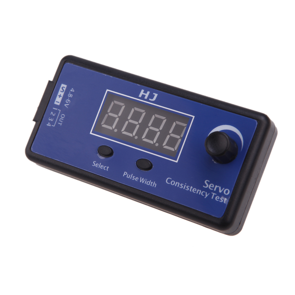 JMT Multi-functional Digital Servo Tester / Motor ESC Consistency Tester for RC Copter Aircraft Car Vehicle RC Tools Parts jx pdi 5521mg 20kg high torque metal gear digital servo for rc model
