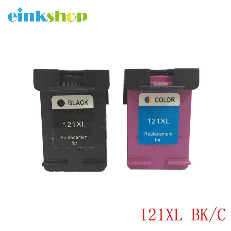 einkshop Brand 121xl 121 Fishekë boje kompatibile për HP Deskjet - Elektronikë për zyrën
