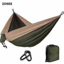Camping Fallschirm Hängematte Überleben Garten Outdoor Möbel Freizeit Schlafen Hamaca Reise Doppel Hängematte