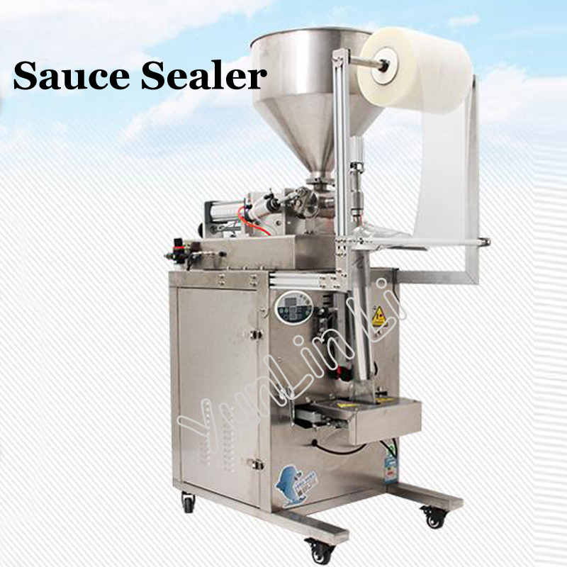 Automatic Sauce Packing Machine Liquid Paste Filling Machine 220V/110V Vinegar/Oil Sealing Machine DYT 950