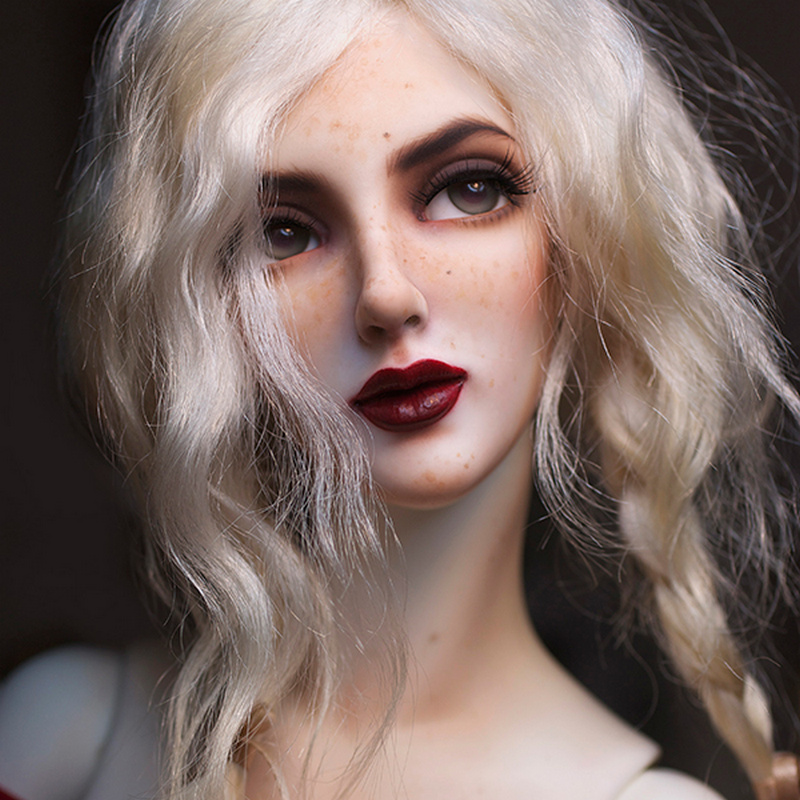 Dollshe craft DS Ausley Love 26F Classic soft bjd sd doll 1 3 body model boys