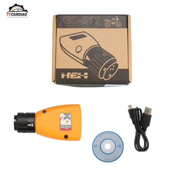 GS-911 V1006.3 Emergency Diagnostic Tool For BMW Motorcycles image
