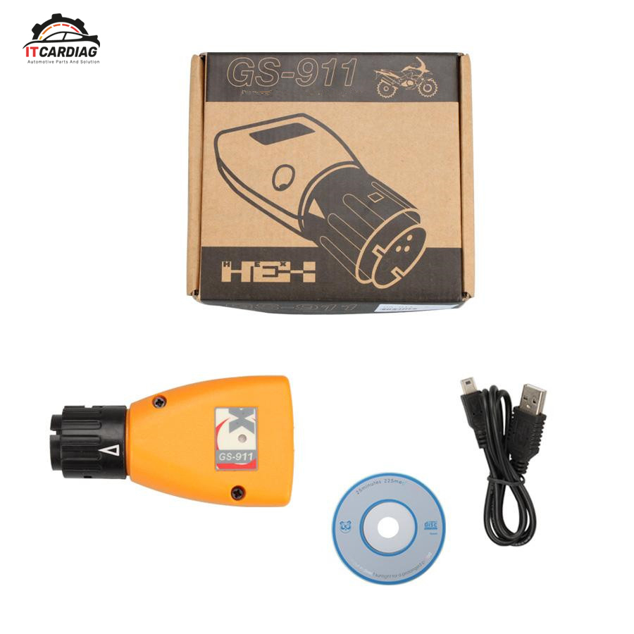 GS-911 V1006.3 Emergency Diagnostic Tool For <font><b>BMW</b></font> Motorcycles image