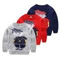 Marca Niños y Niñas Suéter de Punto Bebé Jumper Suéteres Moda Impreso Otoño Invierno Algodón de Los Niños Ropa Para Niños Tops