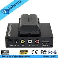 Portable Video recoder Camera Video CVBS HDMI Capture Box 1080P Capture Box USB Capture Box