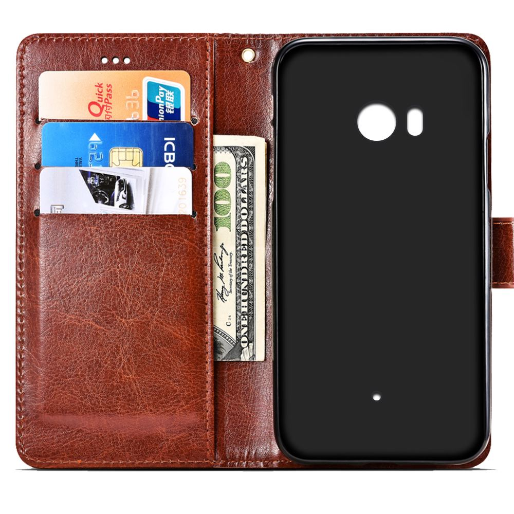 SRHE For HTC U11 Case Cover For HTC U11 Plus Flip Leather Wallet Silicone Cover For HTC U11 Life U11 Eyes With Magnet Holder