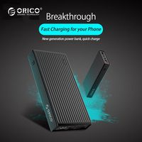 ORICO 10000 20000mAh Powerbank Portable External Battery Ultra Slim USB Mobile Charger Quick Charge Power Bank