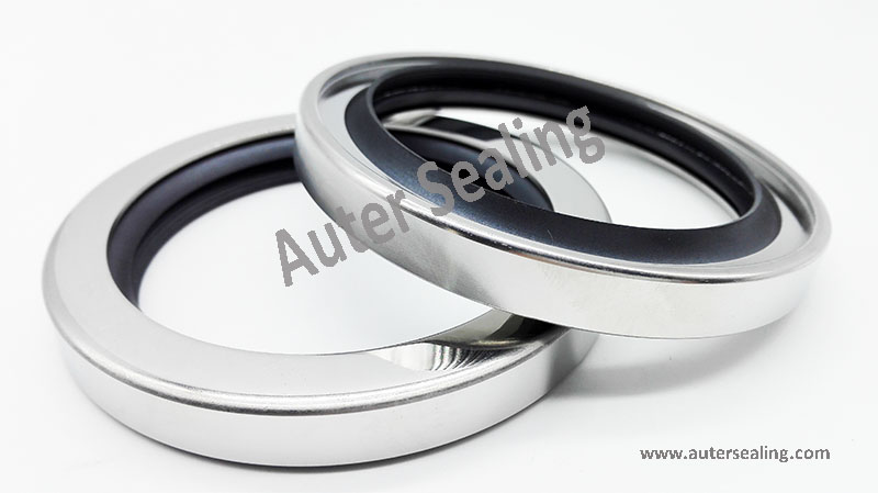 50x72x10 76 2x102x10 40x62x8 Stainless steel PTFE rotary seals screw air compressor SHAFT OIL SEAL WITH