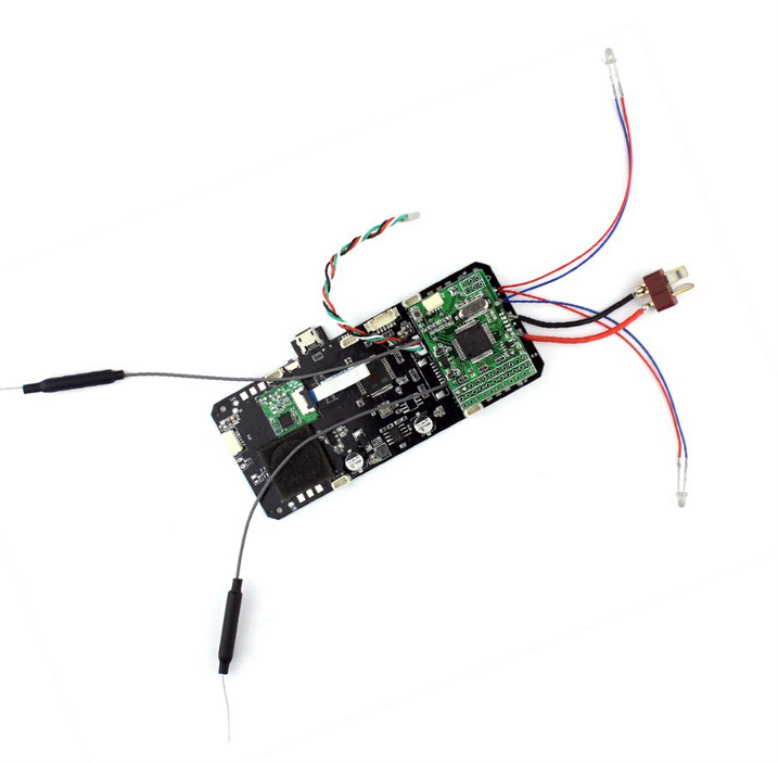 AOSENMA CG035 RC Quadcopter Spare Parts FC Flight Controller with Power Board For RC Toy Model original aosenma cg035 rc fpv quadcopter spare parts receiver board with gps for rc drones toys accessories accs parts