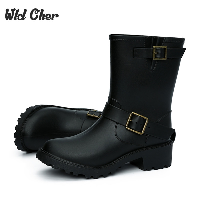 Popular Plain Black Rain Boots-Buy Cheap Plain Black Rain Boots ...
