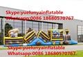 (China Guangzhou) manufacturers selling inflatable slides,Inflatable obstacles Inflatable castle  KY-707