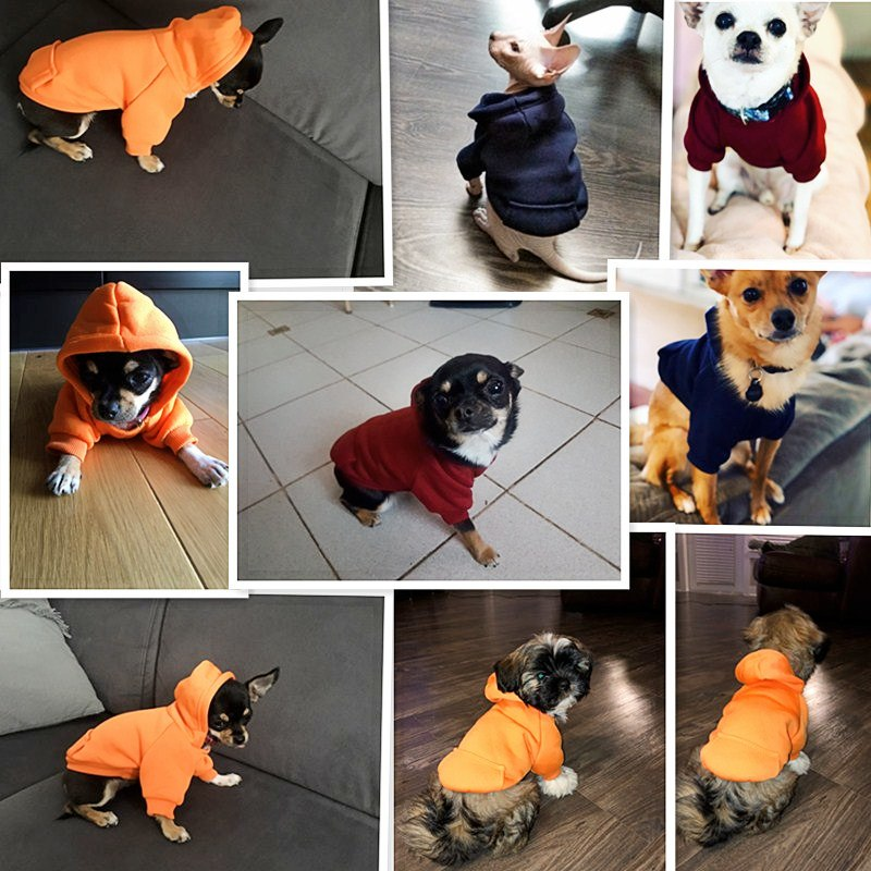 Clothing Dog Winter Hoodies  My Pet World Store