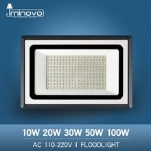 Led Flood Light Outdoor Spotlight Floodlight 10W 20W 30W 50W 100W Wall Washer Lamp Reflector IP65 Waterproof Garden 220V 110V(China)