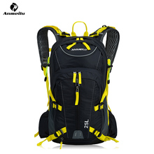 ANMEILU 25L Waterproof Camping Hiking Cycling Backpack with Water Bag Outdoor Sports Rucksack Helmet Net Cover