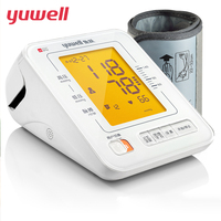 yuwell Health Care Arm Sphygmomanometer Digital Electronic LCD Blood Pressure Monitors Automatic Measuring Instrument 690E