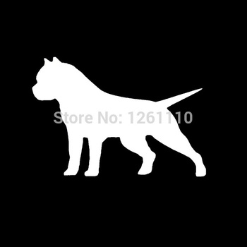 American Bully Vinyl Decal Sticker Apbt Pit Bull Stickers For Car Stickers Truck Window Bumper Laptop 8 Colors 35pcs rick and morty vinyl stickers decal for window car laptop