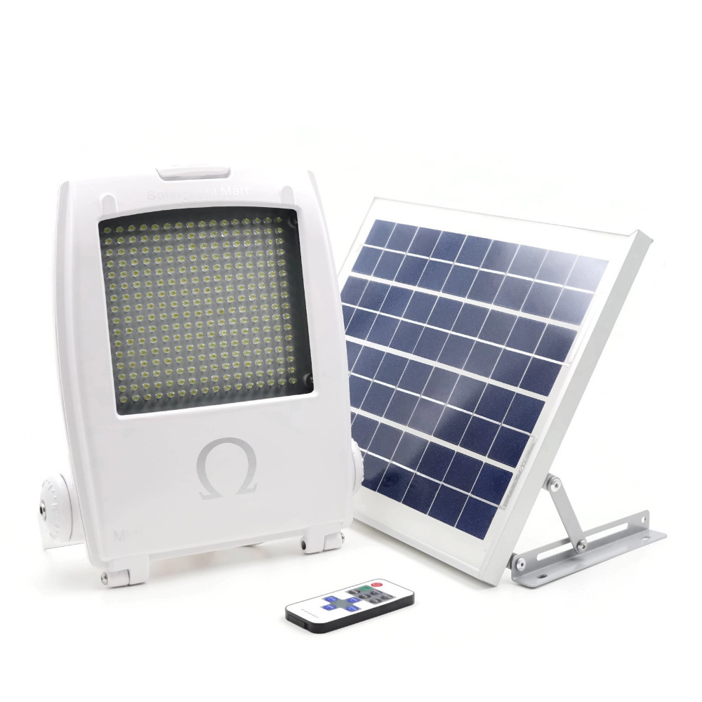 Solar Powered Flood Light With Remote Tyres2c