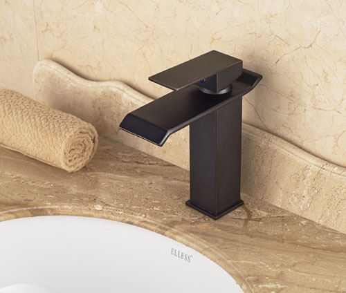 New Traditional Style Oil Rubbed Bronze Waterfall Bathroom  Basin Faucet Single Handle  Mixer Tap ботинки для мальчика 268032 01 01 коричневый crosby