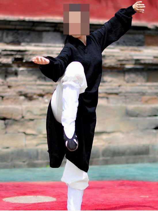 20色リネン黒/赤/青道教太極拳スーツ武衣類カンフー制服武道ローブ制服高品質